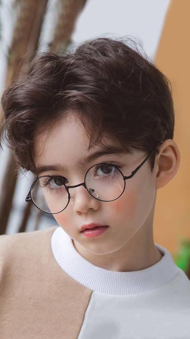 Cooper Lunde 童模 混血 睫毛 眼镜