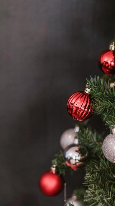 装饰 圣诞树 圆球 饰品 氛围