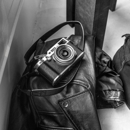 相机 皮夹克 复古 老式