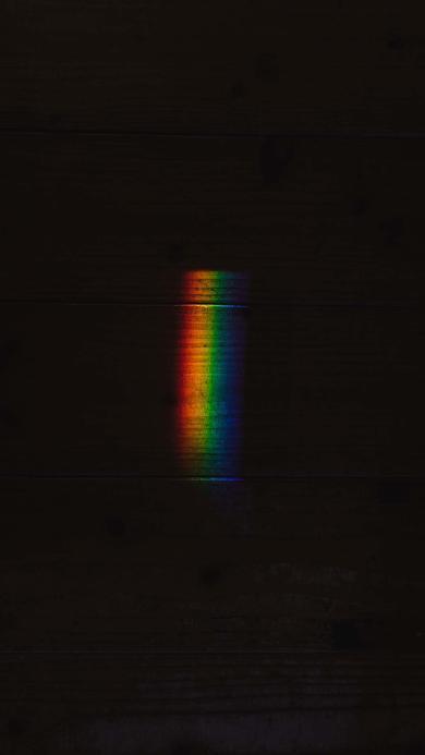黑暗 彩虹光 色彩