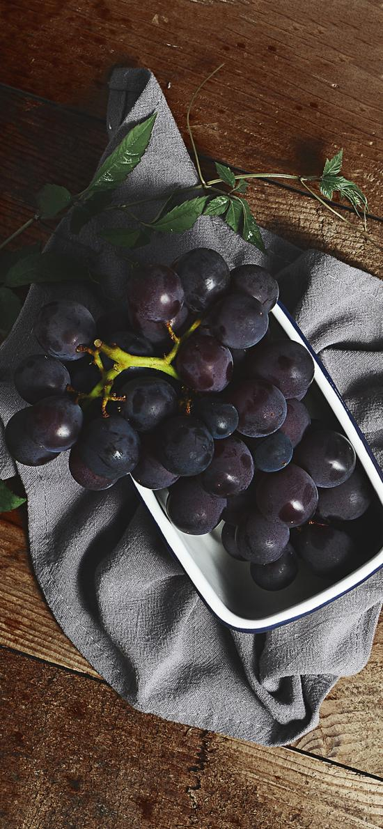 葡萄 水果 新鲜 黑加仑