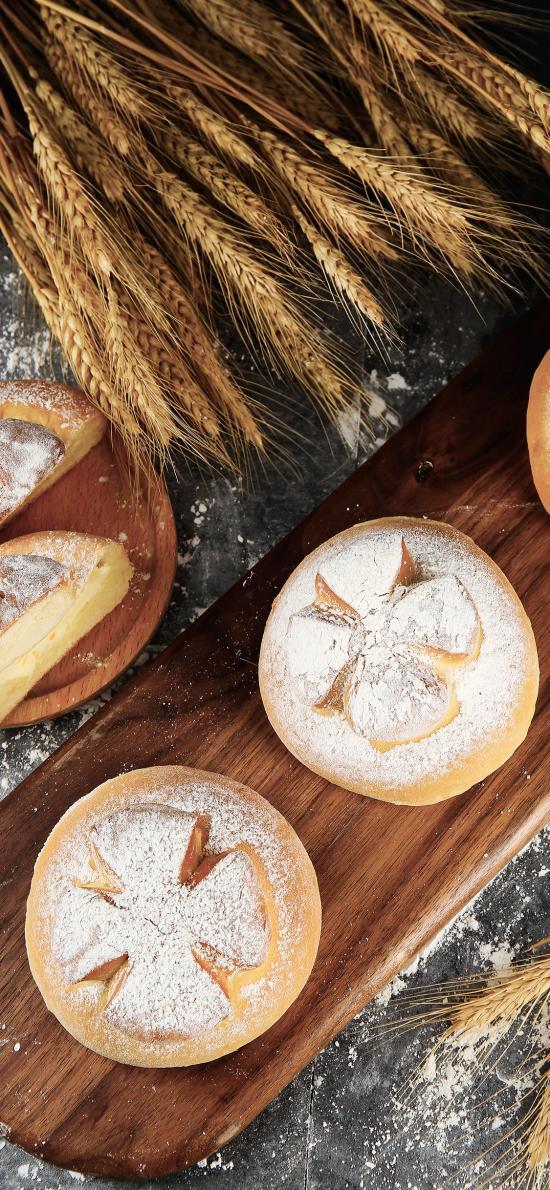 面包 面点 小麦 面粉