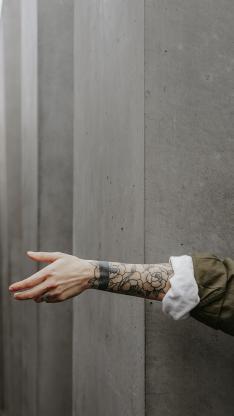 手臂 个性 纹身 刺青
