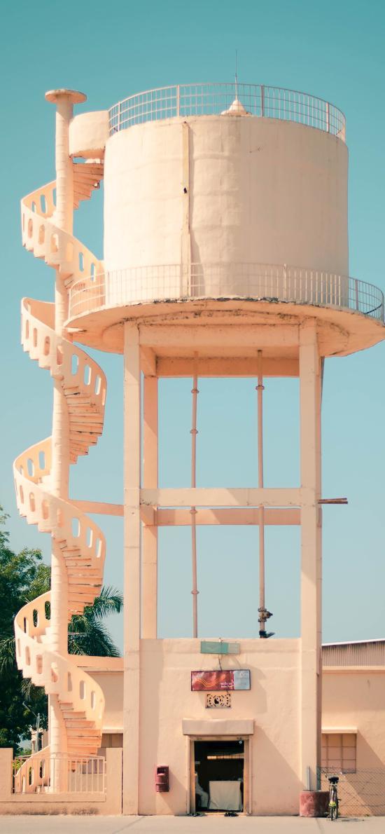 建筑 楼梯 旋转 设计