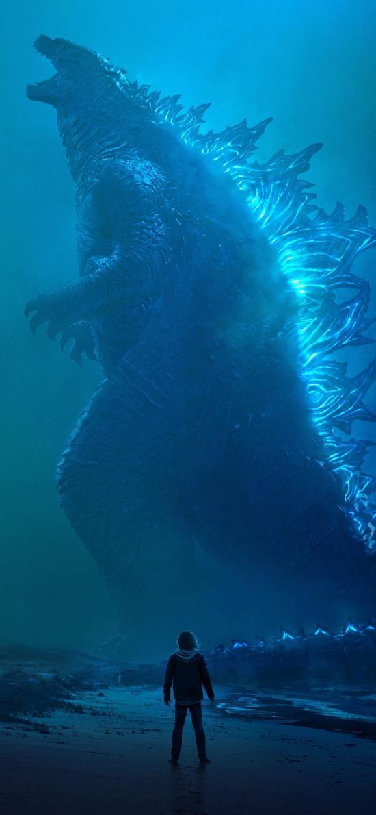 哥斯拉2 怪兽之王 电影 欧美 海报 科幻