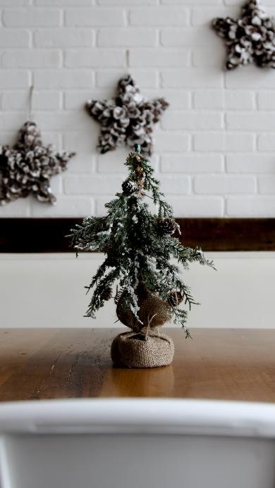 圣诞树 摆件 圣诞节 盆栽