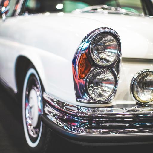 复古 车灯 光亮 轿车