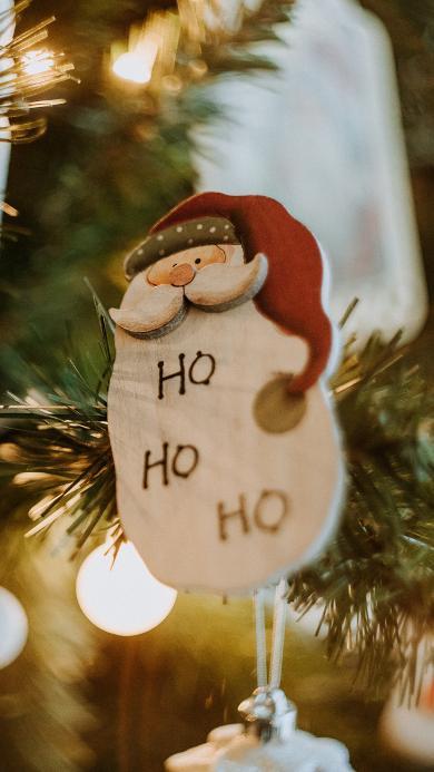 圣诞树 挂件 圣诞老人 装饰