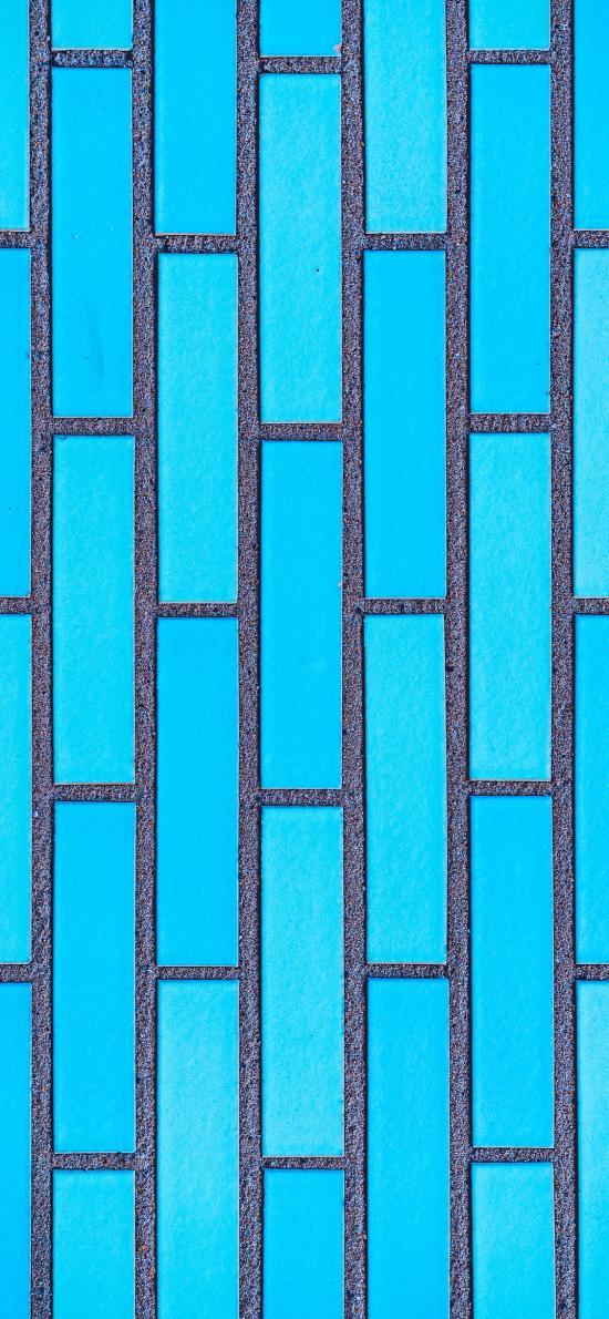 墙壁 简约 长方 蓝色