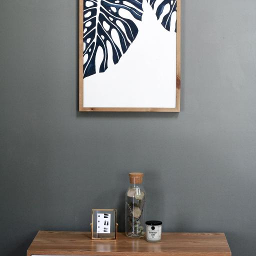 家居 壁画 抽象 橱柜 龟背竹