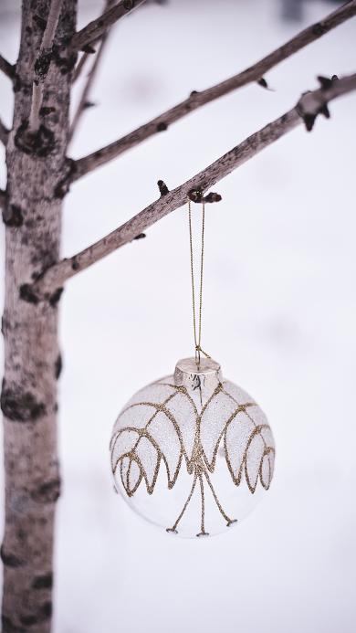 圣诞 树枝 挂饰 精致