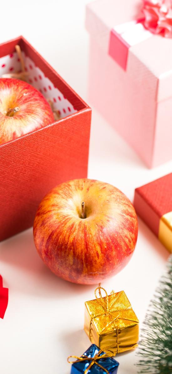 平安夜 水果 圣诞 礼盒