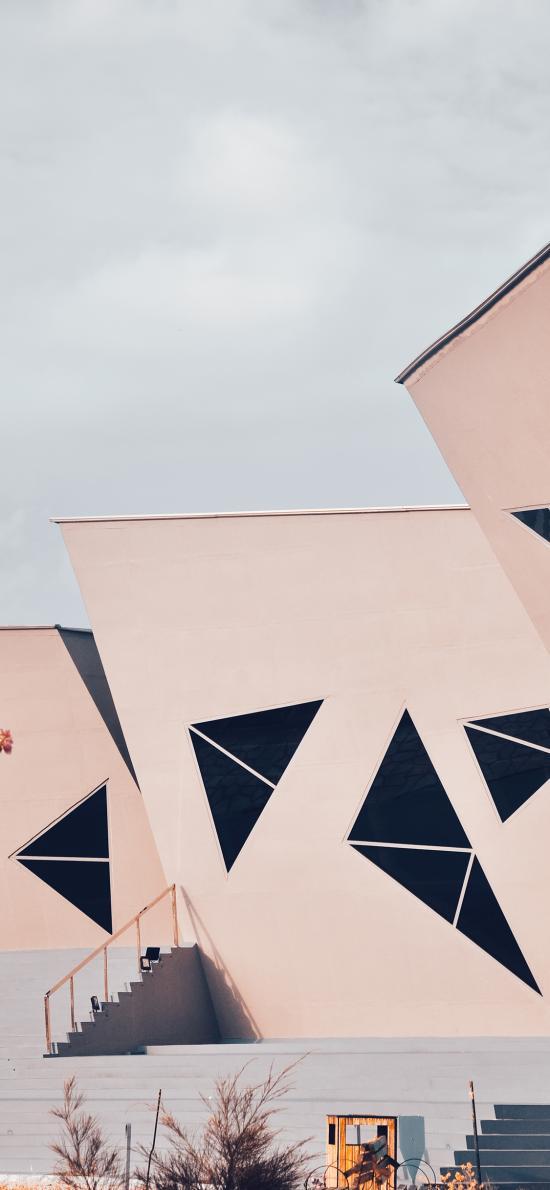 建筑 房屋 三角 设计