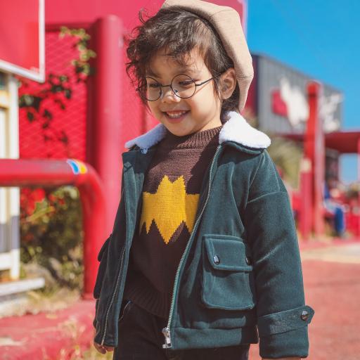 眼镜 笑脸 欢乐 幼童