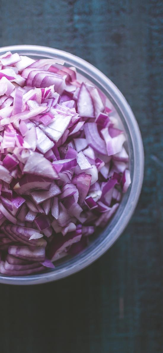 食材 洋葱 切碎 备用 辛辣