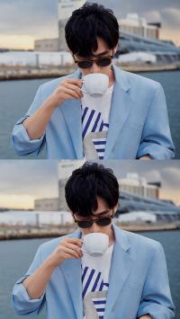 朱一龙 演员 明星 艺人 写真 墨镜