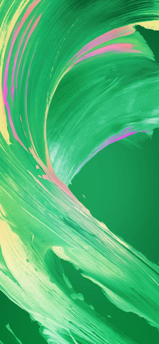 颜料 色彩 绿色 渲染