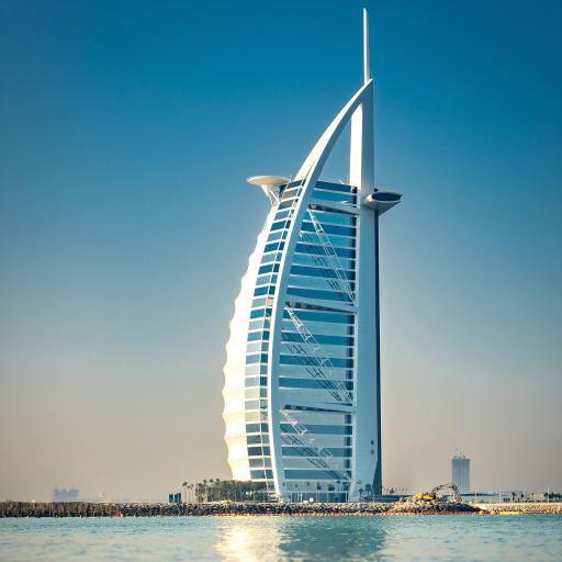 迪拜 人工岛 海岸 帆船酒店 地标