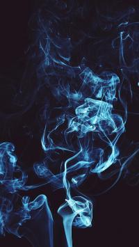 烟雾缭绕 迷幻 白烟