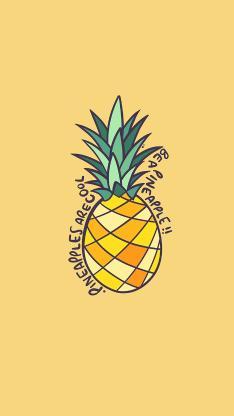 菠萝 水果 绘画 pineapple