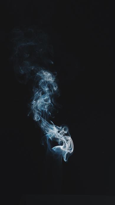 烟雾 黑白 缥缈 迷烟