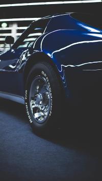 跑车 轮胎 侧身 汽车