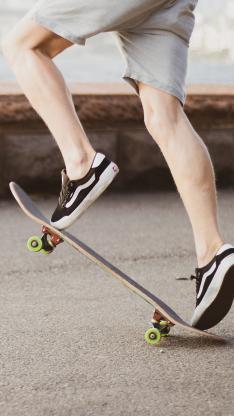 滑板 运动 户外 花式