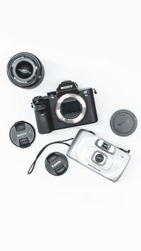 相机 镜头 Sony canon