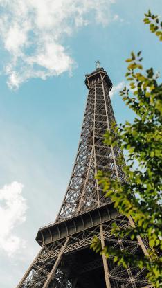 埃菲尔铁塔 建筑 法国 地标