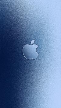 苹果 iPhone logo 标志 品牌 蓝色