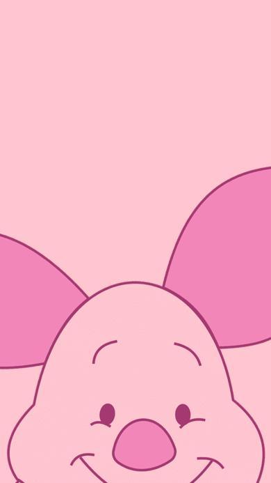 小猪皮杰 动画 小熊维尼 粉色