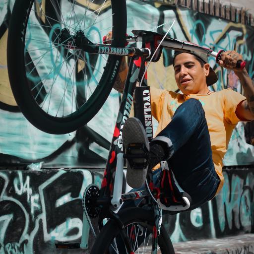 自行车 单车 运动 花式
