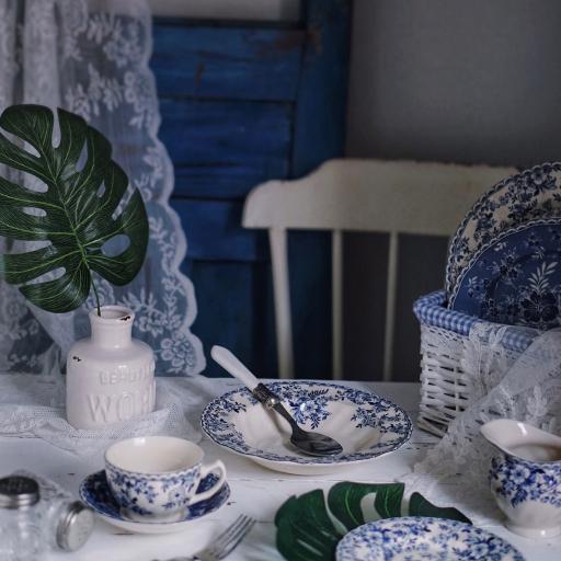 餐桌 餐具 瓷器 日系