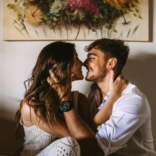 欧美 情侣 拥吻 爱情