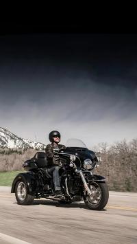 摩托 机车 赛车 行驶 道路