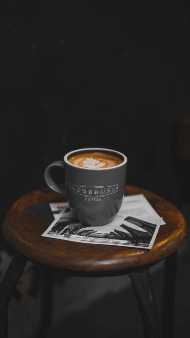 咖啡 拉花 饮品 陶瓷杯