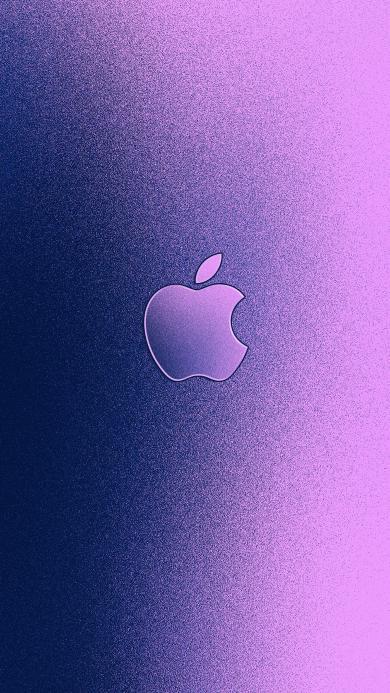 苹果 iPhone logo 标志 品牌 紫色