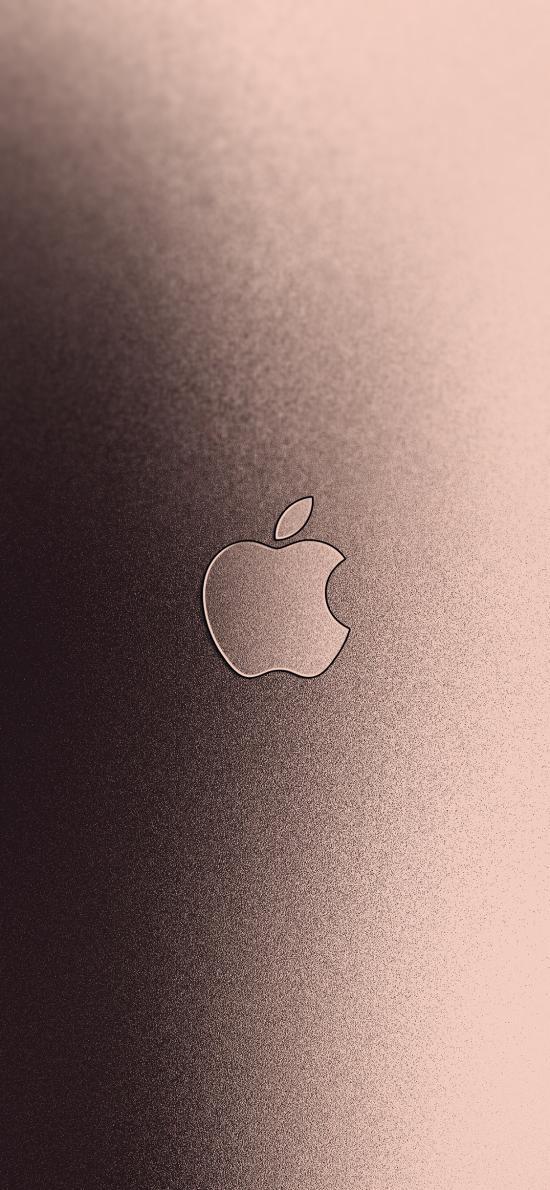 苹果 iPhone logo 标志 品牌 金色