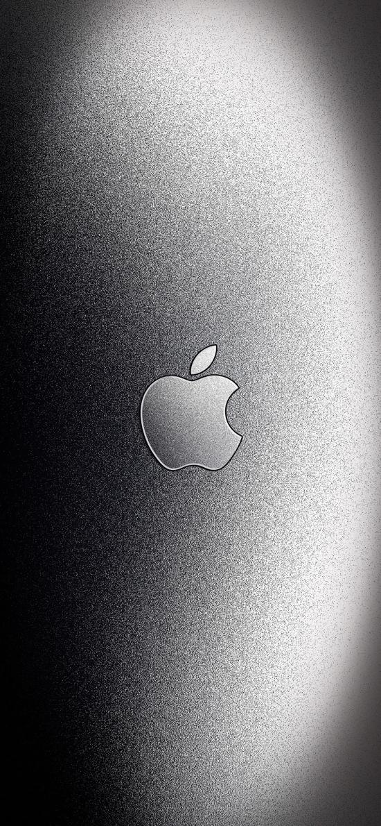 苹果 iPhone logo 标志 品牌 黑白