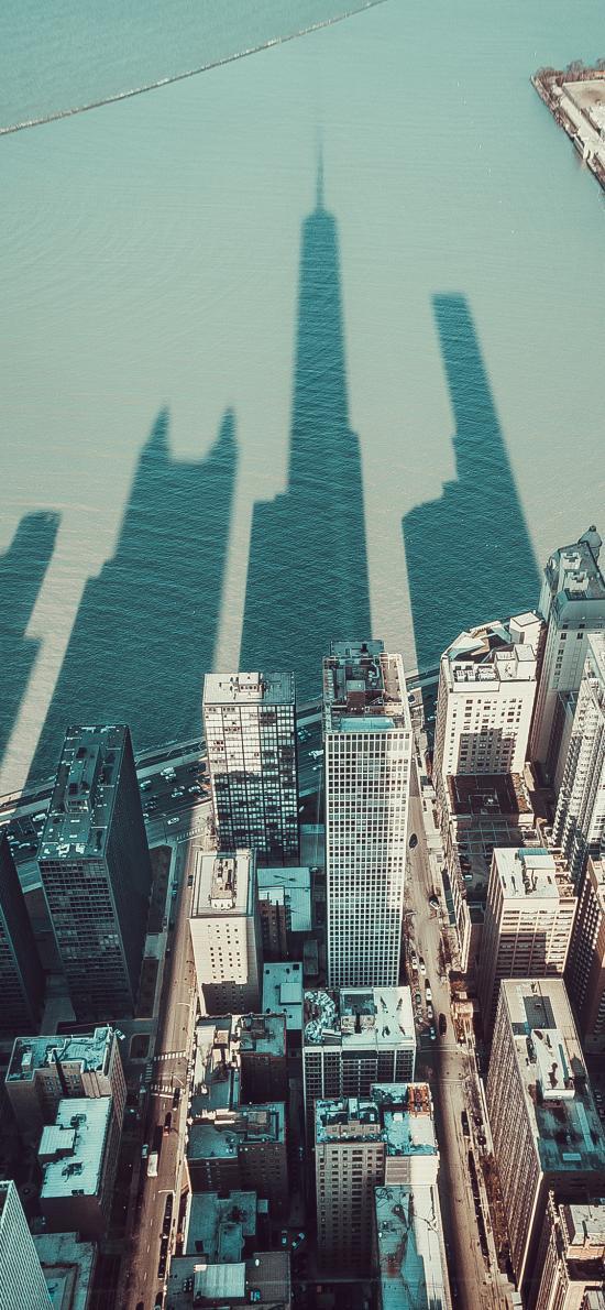 城市 建筑 楼房 影子