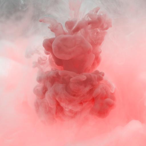 烟雾 缭绕 粉色 迷烟