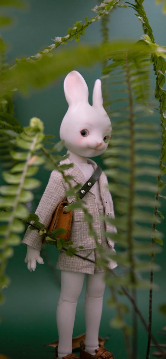 玩具 摆件 兔子 特写