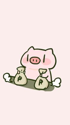 PP猪 钱袋 有钱 粉