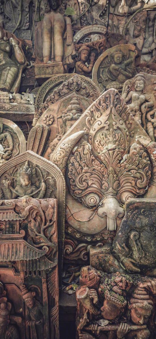 雕刻 浮雕 艺术 佛