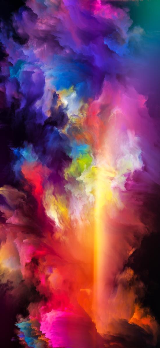 色彩 炫麗 抽象