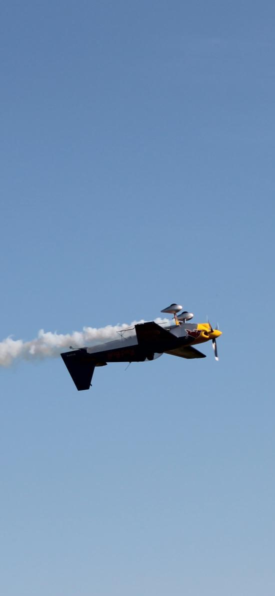 飞机 飞行 航空 烟雾 战斗机