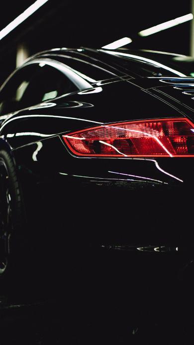 尾灯 汽车 轿车 光亮