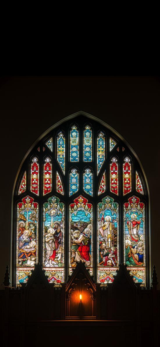 教堂 玻璃 设计 信仰