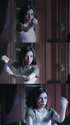阿丽塔 战斗天使 电影 剧照 欧美