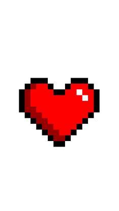 爱心 马赛克 像素 心形
